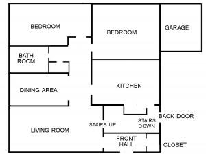 floor plan -a
