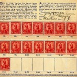 War Bond Stamp Book