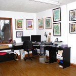 My art studio, after.